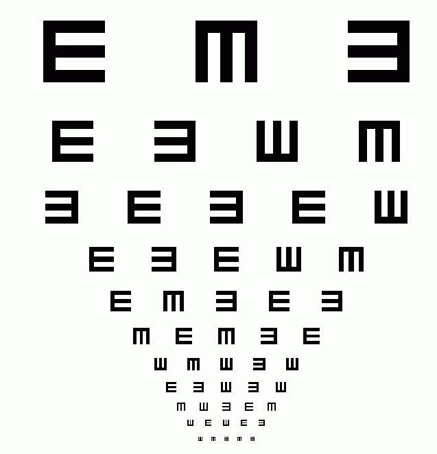 eye exam online  eye exam online question and answers